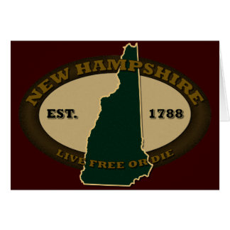 New Hampshire Est 1788 Card