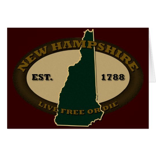 New Hampshire Est 1788 Card