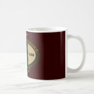 New Hampshire Est 1788 Classic White Coffee Mug