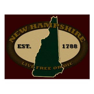 New Hampshire Est 1788 Tarjetas Postales