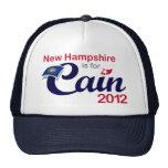 New Hampshire está para Caín 2012 - Herman Caín Gorras