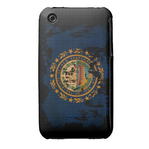 New Hampshire Flag iPhone 3 Case-Mate Cases