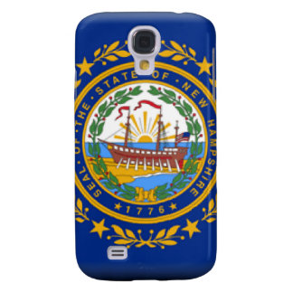 New Hampshire Flag Samsung Galaxy S4 Covers