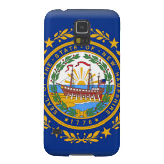 New Hampshire Flag Galaxy S5 Cases