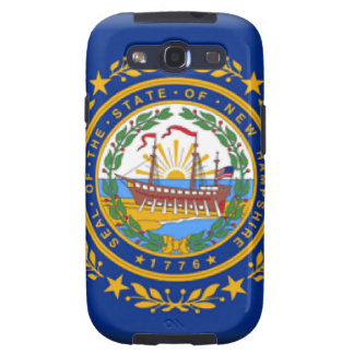 New Hampshire Flag Galaxy SIII Covers