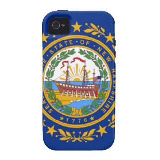 New Hampshire Flag Case-Mate iPhone 4 Covers