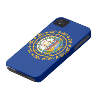 New Hampshire Flag Case-Mate iPhone 4 Case