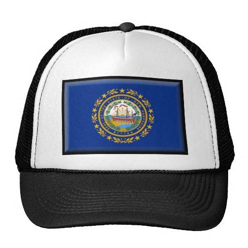 New Hampshire Flag Hat