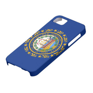 New Hampshire Flag iPhone SE/5/5s Case