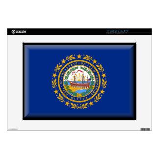 "New Hampshire Flag 15"" Laptop Skin"