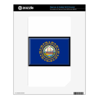 New Hampshire Flag Decal For The NOOK Color
