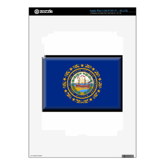 New Hampshire Flag iPad 3 Decals