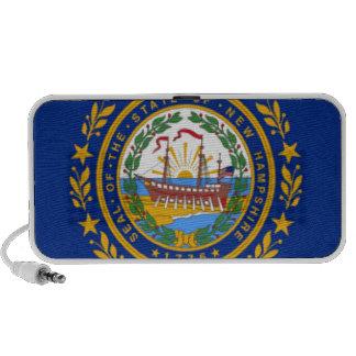 New Hampshire Flag Mp3 Speaker