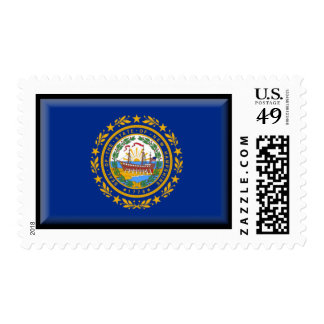 New Hampshire Flag Stamp