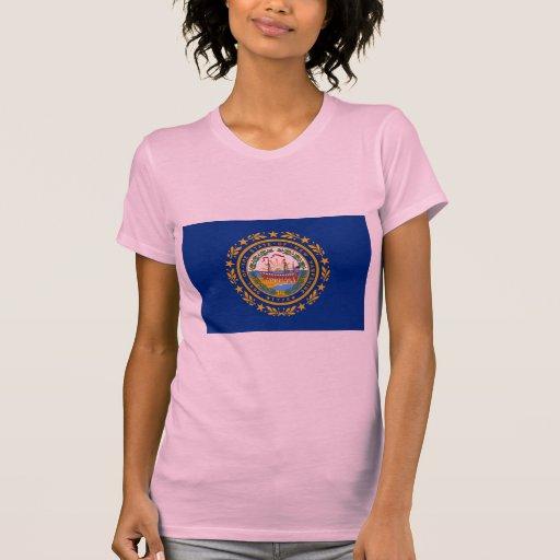 New Hampshire Flag T-shirts