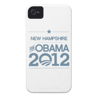 NEW HAMPSHIRE FOR OBAMA 2012.png Case-Mate iPhone 4 Case