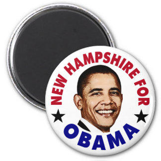 New Hampshire For Obama Magnet
