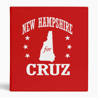 NEW HAMPSHIRE FOR TED CRUZ BINDER