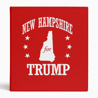 NEW HAMPSHIRE FOR TRUMP BINDERS