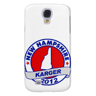 New Hampshire Fred Karger Samsung Galaxy S4 Cover
