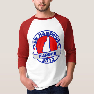 New Hampshire Fred Karger T-Shirt