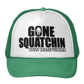 NEW HAMPSHIRE Gone Squatchin - Original Bobo Trucker Hat