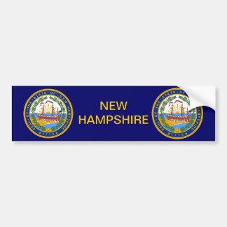 New Hampshire Great Seal Bumper Sticker