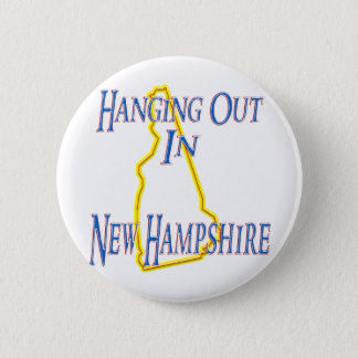 New Hampshire - Hanging Out Pinback Button