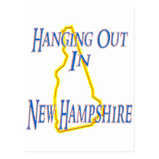 New Hampshire - Hanging Out Postcard
