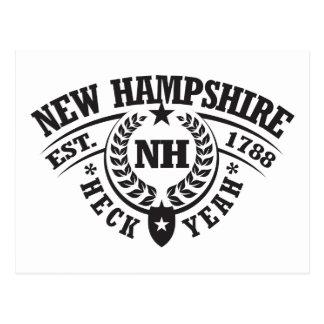 New Hampshire, Heck Yeah, Est. 1788 Postcard
