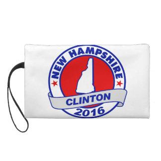 new hampshire Hillary Clinton 2016.png Wristlet Purse