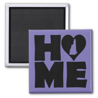 New Hampshire Home Heart State Fridge Magnet