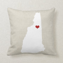 """New Hampshire Home State Pillow 16"""" x 16"""""""