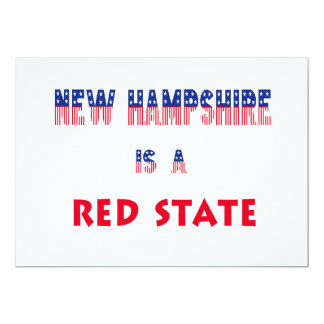 New Hampshire is a Red State Card