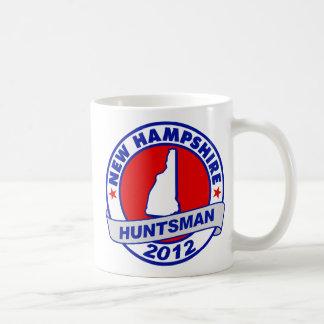 New Hampshire Jon Huntsman Classic White Coffee Mug
