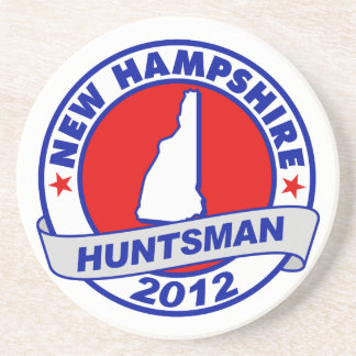 New Hampshire Jon Huntsman Drink Coaster