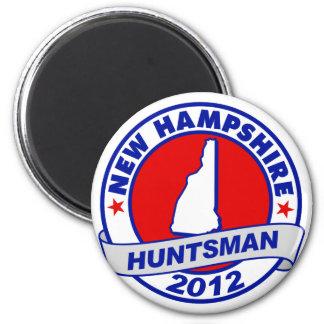New Hampshire Jon Huntsman Refrigerator Magnets
