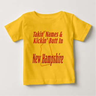 New Hampshire - Kickin' Butt Baby T-Shirt