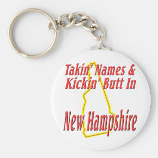 New Hampshire - Kickin' Butt Keychain