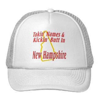 New Hampshire - Kickin' Butt Trucker Hat