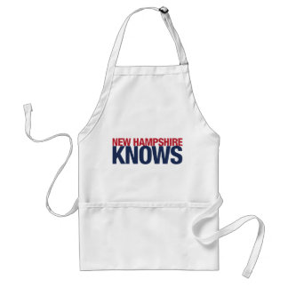 New Hampshire Knows Adult Apron