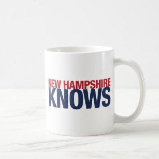 New Hampshire Knows Coffee Mug