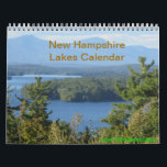 """New Hampshire Lakes Vacation Photography Calendar<br><div class=""""desc"""">Thanks for traveling with us today!  Feel free to customize your new New Hampshire Lakes Calendar!</div>"""