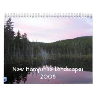New Hampshire Landscapes 2008 Calendar