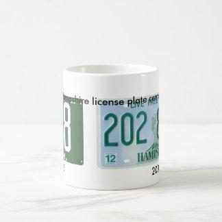 New Hampshire license plate centennial Coffee Mug
