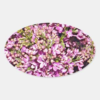 New Hampshire Lilac (Purple) Sticker