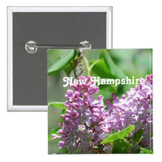 New Hampshire Lilacs Pins
