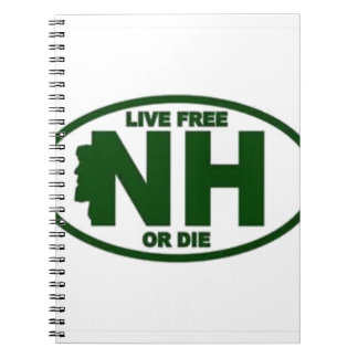 New Hampshire Live Fee or Die Notebook