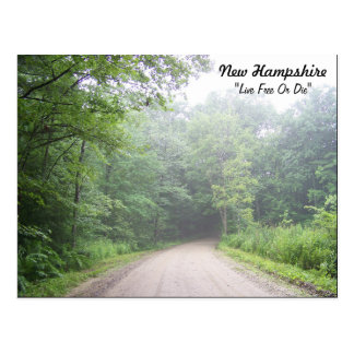 """New Hampshire """"Live Free Or Die"""" Postcard"""