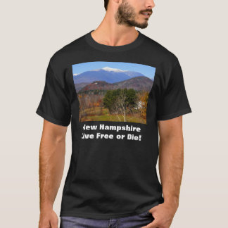 New Hampshire Live Free or Die Tee Shirt